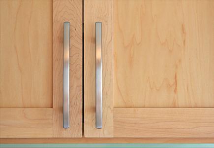 Close Up of Cabinet Door