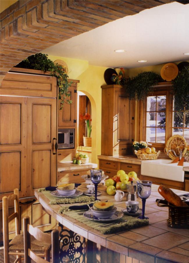 Italian Villa-Style Kitchen