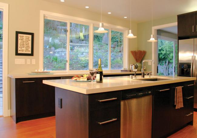 Add task lighting to a kitchen