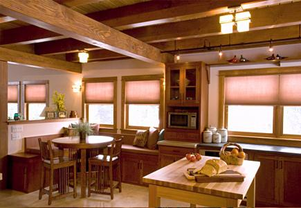 An Arts and Crafts Style Kitchen