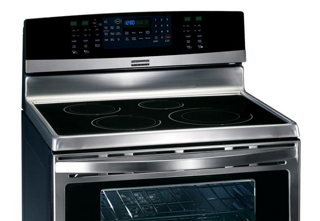 ProFeatures PersonalStyle Kenmore Elite Induction Range