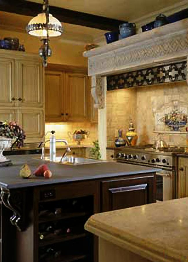 Medieval Castle Style Kitchen