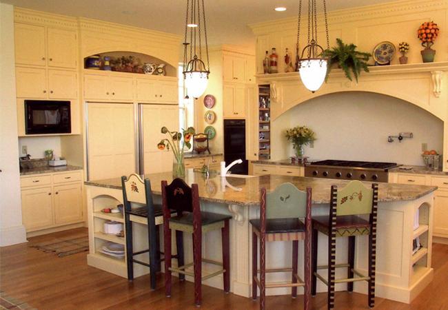 English-Manor Style Kitchen