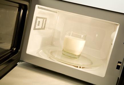 Microwave Milk