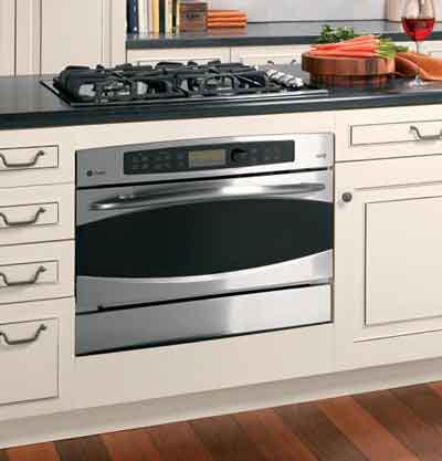 A GE Profile Advantium speed cook oven.