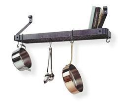Enclume wall mount pot rack