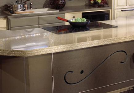 Kithcen-Work-Surface-WithQuartz-Countertop