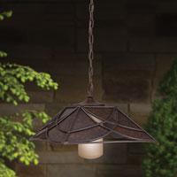 Decorative outdoor lighting fixture