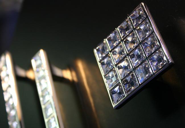 Distinctive Hardware Richelieu Swarovski Crystal Collection