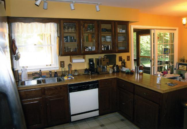 NKBA award winning kitchen remodel before its makeover