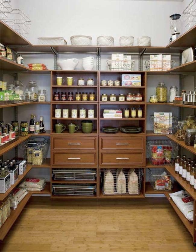 schulte system pantry rack
