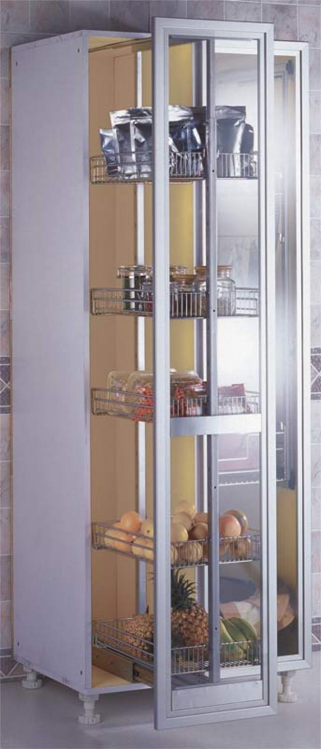 pull out pantry rack from sidelines