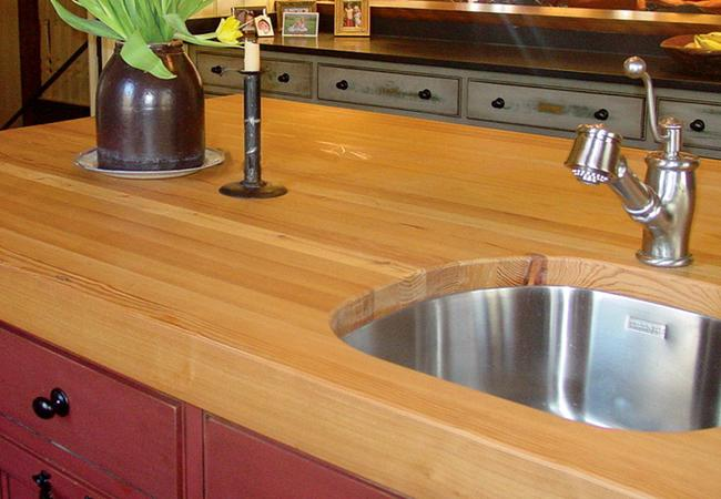 Go Green Style Craft-Art Reclaimed Wood Countertops
