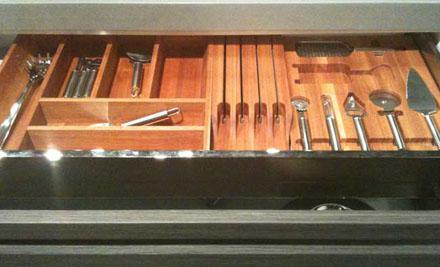 Kitchen Drawer Cutlery Tray