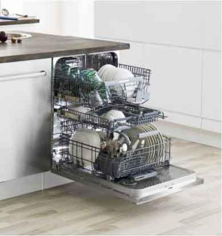 An Energy Star rated dishwasher from Asko.