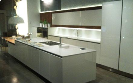 White Modern Kitchen Florense