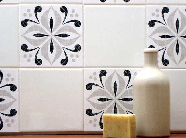 Tile Decals for Backsplashes