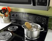 Electric Range with Coils