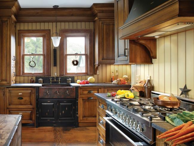 NKBA Award Winning turn-of-the-century small kitchen design