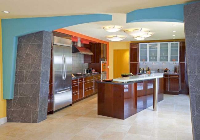 Colorful California Kitchen