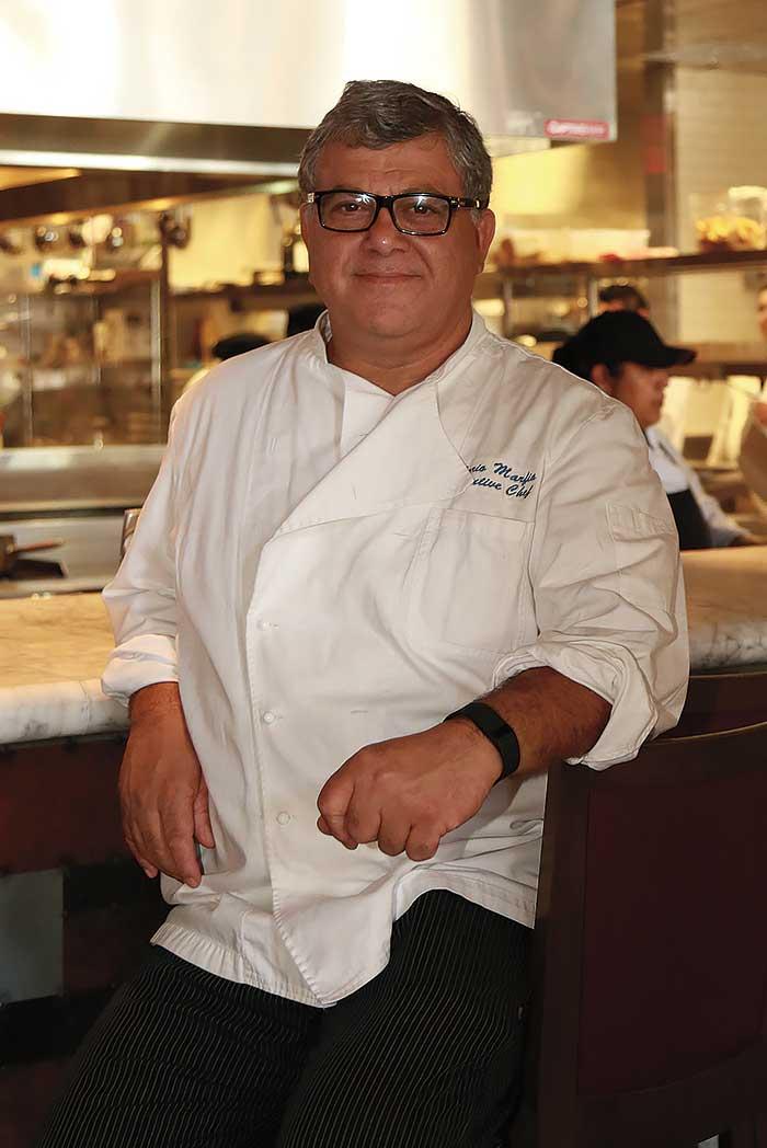 Chef Mario Marfia