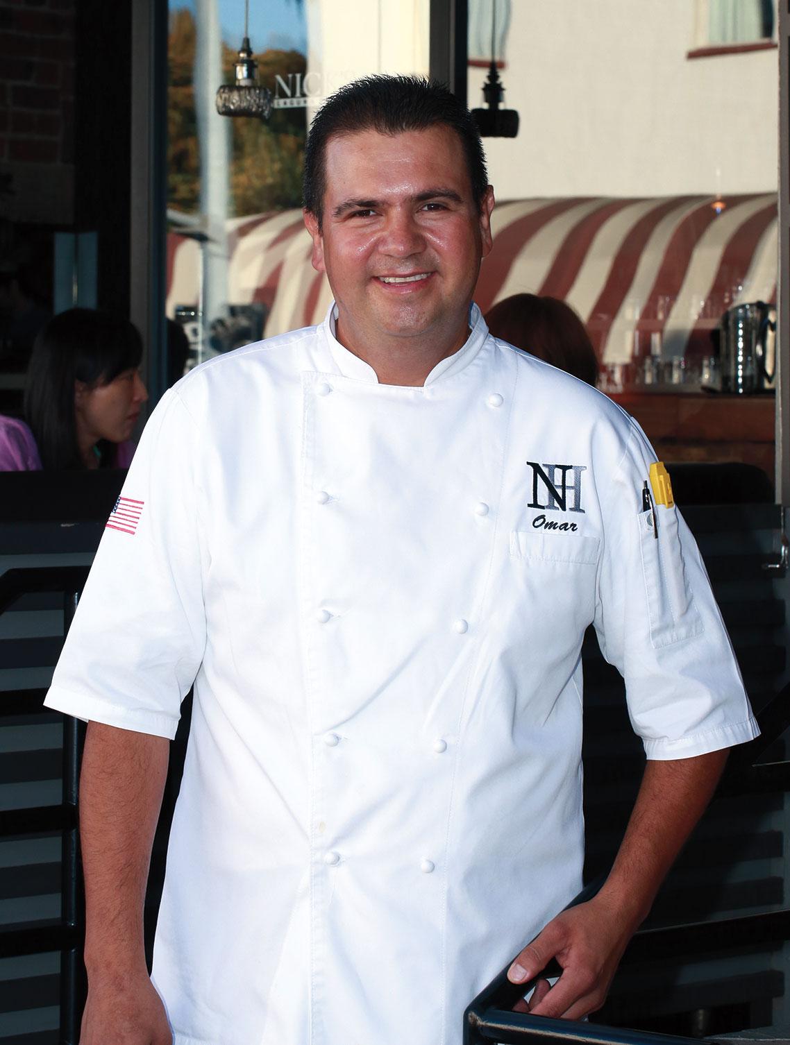 Chef Omar Gonzalez Nick's Restaurants