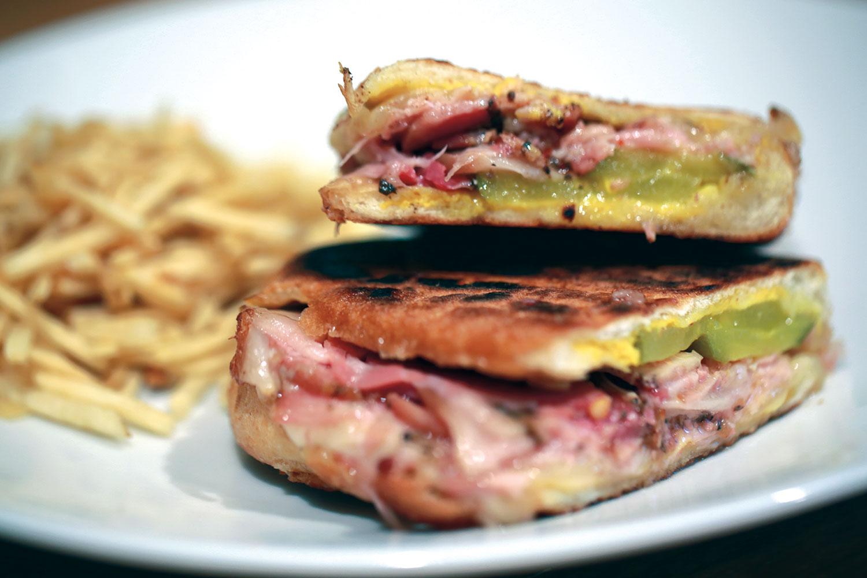 porchetta cubano sandwich