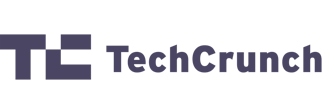Logo grey tech crunch