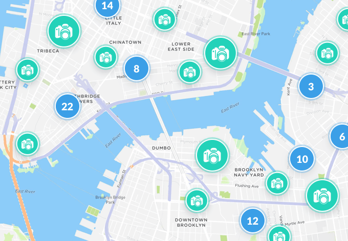 Map sample nyc