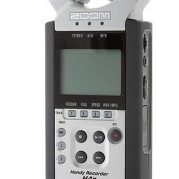 Rent ZOOM H4N 4CH AUDIO RECORDER KIT
