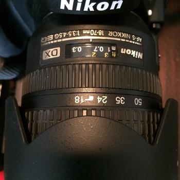Rent Nikkon 18-70 MM lens