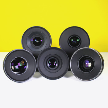 Rent Zeiss CP.2 5 lens Superspeed set
