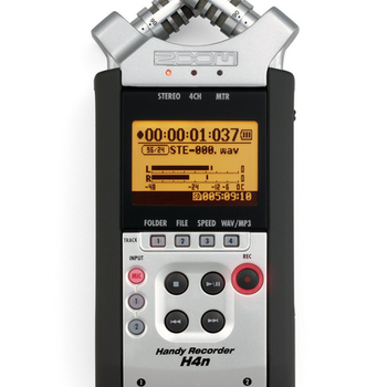 Rent Zoom H4N Portable Digital Recorder