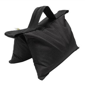 Rent Set of Five 15lb Sandbags, black