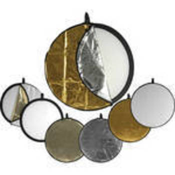 "Rent Various 5-in-1 Collapsible Reflector Disc (42"")"