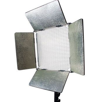 Rent LED Studio Light (Ikan IB500 Bi-Color, 13 x 14 x 2 inches)