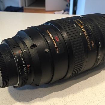 Rent Nikon 80-400mm f/4.5-5.6D ED Autofocus VR Zoom Nikkor Lens