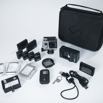 Rent GoPro Hero3+ Black Ed. FULL kit
