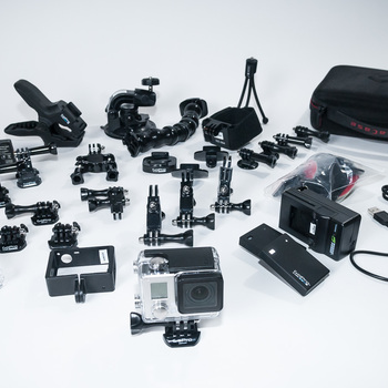 Rent GoPro Hero3+ Black Ed. Complete Premium Kit