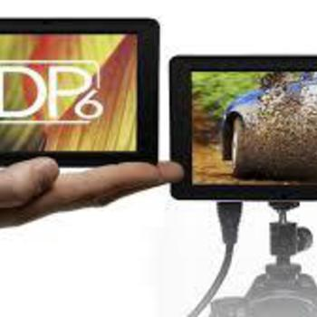 "Rent SmallHD DP6-SLR 5.6"" HDMI Monitor"