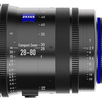 Rent Arri Zeiss 28-80mm T2.9 Compact Zoom CZ.2 Lens