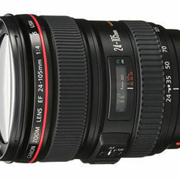 Rent Canon 24-105mm f/4 L Series Zoom Lens - LAX