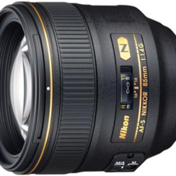 Rent Nikon 85mm f/1.4G AF-S