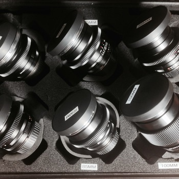 Rent Duclos Mod Zeiss ZF Lens kit EF mount 18,25,35,50,85,100mm