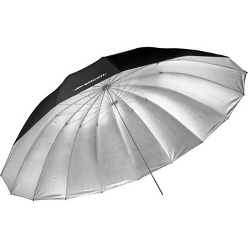 Rent Westcott 7' Silver Parabolic Umbrella