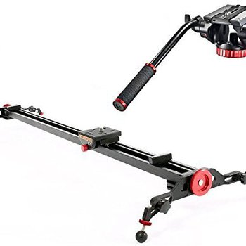 Rent Konova K2 100cm Slider with Manfrotto 502HD Pro Video Head