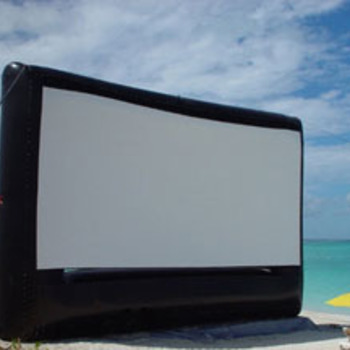 Rent 20' x 11.5' Inflatable Airscreen (widescreen)