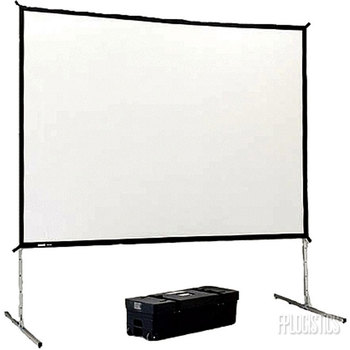 Rent 12' x 9'' Da-lite Fast-Fold Screen (rear project)