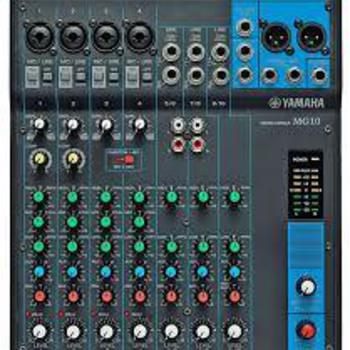 Rent Yamaha MG-10 10 channel Mixing Console
