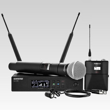 Rent Shure QLXD4 wireless mic package